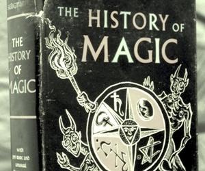 book, magic, and history image