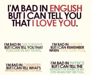 love, english, and geography image