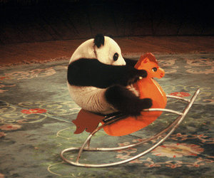 adorable, nice, and rocking horse image