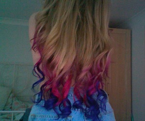 hair, pink, and photography image