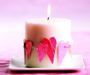 heart and candle image