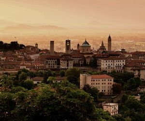 bergamo, city, and old image