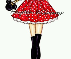 hayden williams, disney, and minnie mouse image