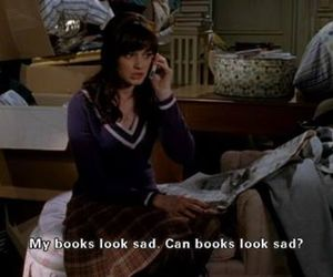 book, gilmore girls, and funny image