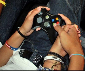 couple, game, and liebe image