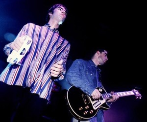noel gallagher, oasis, and liam gallgher image