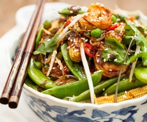 chinese, seafood, and sesame image