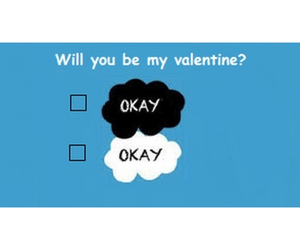 valentine, the fault in our stars, and tfios image