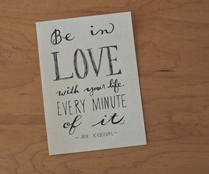 quote, typography, and love image