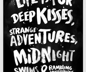 life, kiss, and adventure image