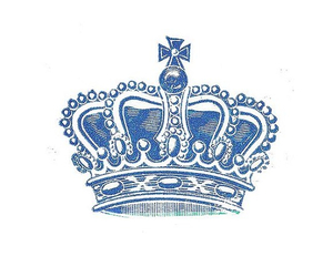 blue, crown, and noble image