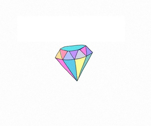 colorful, diamond, and love image