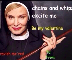 valentines day card and american horror story image