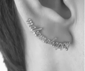 cool, earring, and love image