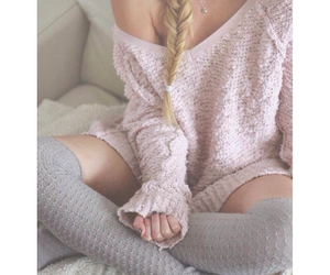 braided, Lazy, and necklace image