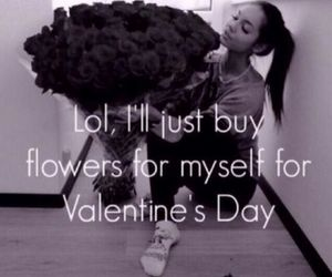 flowers, valentine, and valentines day image