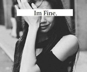 girl and im fine image