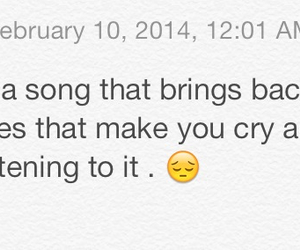 cry, memories, and music image