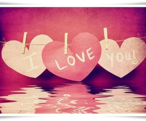 couples, hearts, and I Love You image