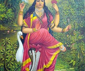 goddess, art, and hinduism image