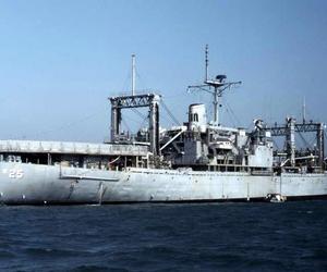 US Navy and u.s.s. haleakala (ae-25) image