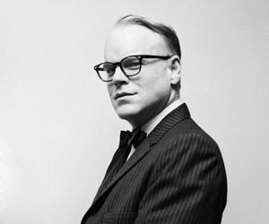 capote, truman, and philip hoffman image