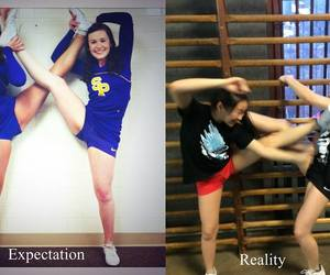 cheer, fail, and funny image