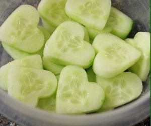 food, cucumber, and healthy image