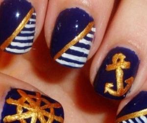 anchor, nails, and navy image