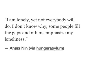 loneliness, lonely, and quotes image