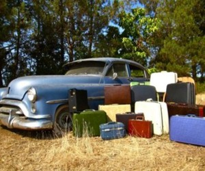 classic, vintage, and old car image