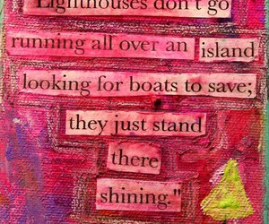 quote, lighthouse, and save image