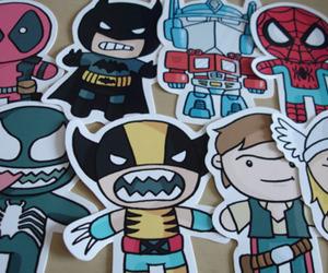 batman, spiderman, and hero image