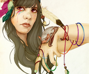 bat for lashes and girl image