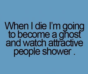 ghost, teenager post, and shower image