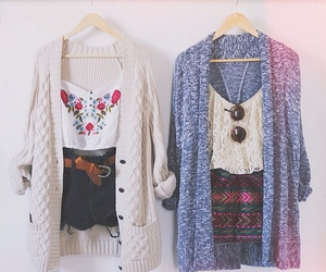 clothes, girl, and pattern image