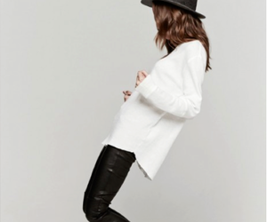 fashion, hat, and black image