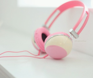 pink, cute, and music image