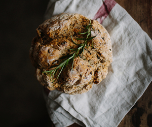 almond, food, and soda bread image