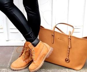 fashion, timberland, and bag image