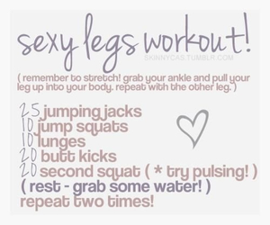 workout, legs, and sexy image