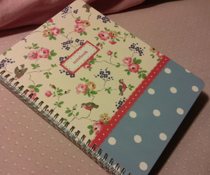 book, cath kidston, and flowers image