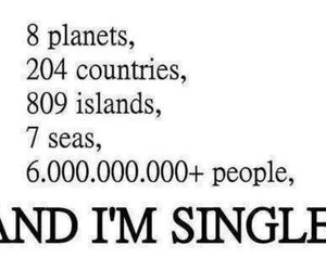 single, people, and quotes image