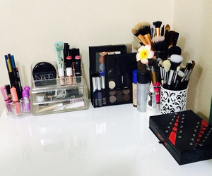 dressing table, makeup, and vanity image