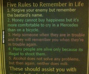 life, rules, and funny image