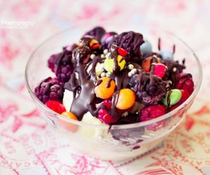 berries, candy, and icecream image