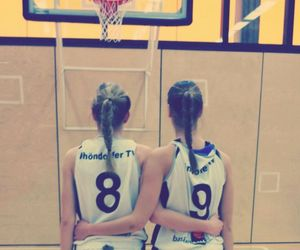 Basketball, best friends forever, and friends image