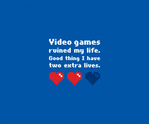 life and video games image