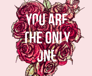 drawing, roses, and you are the only one image