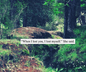 lost, quote, and text image